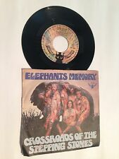 """Désolé Memory-Crossroads of the stepping stones 7"""" Buddah records 201050"""