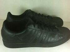 Adidas Superstar Shell Toe Athletic Sneakers Men's US 13 Black Shoes
