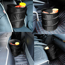 Car Dust Bin Storage Bucket Trash Can Container Rv Pop Up Foldable Garbage Bag