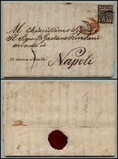 PONTIFICIO - 5 bai (6a) - Lettera Roma- Napoli 20.5.1859