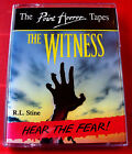 R.L.Stine The Witness Point Horror 2-Tape Audio Book Dramatisation+Sound Effects