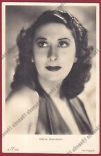 CARLA CANDIANI 02 ATTRICE ACTRESS CINEMA MOVIE - LEGNANO Cartolina FOTOGRAF 1942