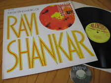 Ravi Shankar The Exciting Music 1963 England LP