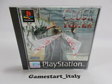 CLOCK TOWER (SONY PS1) USATO  - PAL VERSION USED