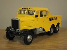 CORGI HEAVY HAULAGE WIMPEY SCAMMELL CONSTRUCTOR TRUCK MODEL 17702 1:50
