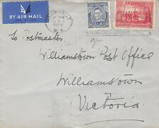 Stamps Australia 3d KGV1 uprated 2d NSW sesquicentennial on Orient Line cover
