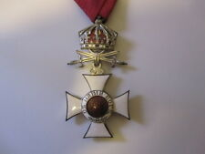 Bulgaria Order of St. Alexander with Crown and Swords 1914 to 1945 Officers