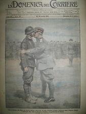 WW1 Gal CAPELLO BRIGADE AVELLINO ASSAUT COSAQUES LA DOMENICA DEL CORRIERE 1917