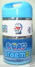 Doraemon 3 Layers Thermal Insulation Food Saver Stainless Steel+PP Lunch Box
