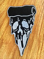 Pizza Zombie Logo Symbol Jacket T-shirt Patch Sew Iron on Embroidered.