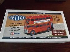 CORGI METTOY LONDON ROUTEMASTER BUS NO. MT00101 NEW IN BOX.