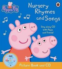 Peppa Pig: Nursery Rhymes and Songs Picture Book and CD: Ladybird