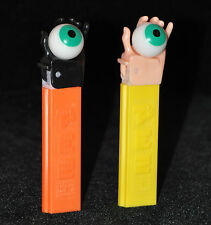 Two Psychedelic Eye Black and White Hands - MINT Limited PEZ - Free US Shipping