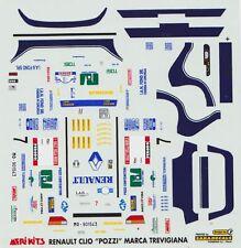 RENAULT CLIO GR. A  POZZI RALLY DELLA MARCA TREVIGIANA 1997  DECALS 1/43