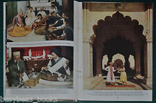 1947 magazine article about NEW DELPHI INDIA, history people etc color photos