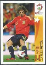 PANINI EURO 2008- #476-ESPANA-SPAIN-CARLES PUYOL IN ACTION