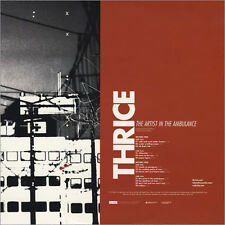 Thrice The Artist In The Ambulance 2x CLEAR VINYL LP Record non album track! NEW
