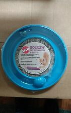 spot rockin cat scratcher & led toy ball blue