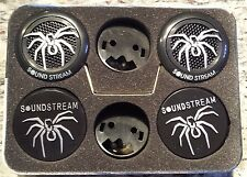 SOUNDSTREAM TWS-3N 1 INCH CAR AUDIO TWEETER SET PAIR PEI DOME TWEETER