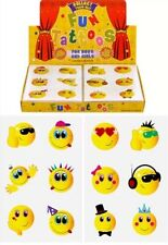 576 Smiley Temporary Children's Tattoos Wholesale Lot Job in asstd designs UK