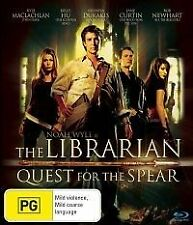 THE LIBRARIAN Quest For The Spear DVD R4 - NEW