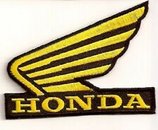LOT OF 3 - HONDA MOTORCYCLE GOLD WING EMBROIDERED BIKER  PATCH