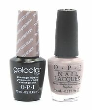 Opi Soak-Off GelColor Gel Polish + Nail Polish Taupe-Less Beach #A61