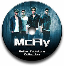 MCFLY POP PUNK ROCK GUITAR TABS TABLATURE SONG BOOK SOFTWARE CD