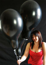 "20 x Belbal 14"" Luftballons SCHWARZ * BLACK * (Made in EU)"