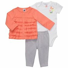 Carter's 3 Piece Outfit Leggings, Body Suit & Cardigan Set ~ New With Tags