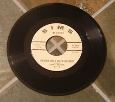 "45 RPM Country By Jimmy Patton, ""A Preacher And A Girl In The Night"" on Sims"