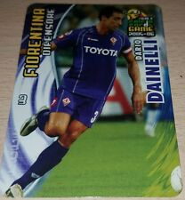 CARD CALCIATORI PANINI 2005-06 FIORENTINA DAINELLI CALCIO FOOTBALL SOCCER ALBUM