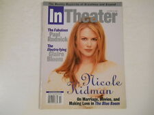 Nicole Kidman, Paul Rudnick, Claire Bloom - In Theater Magazine 1998