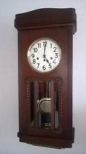 0042- Antique German Junghans  Westminster chime wall clock not Odo
