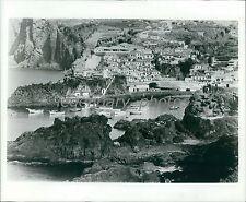 1974 View of Madeira Spain Original News Service Photo