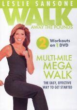 DVD - Exercise - Fitness - Leslie Sansone: Walk Away the Pounds -Multi-Mile Walk