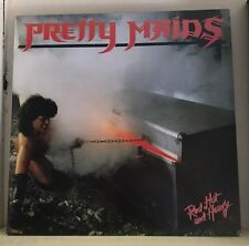 PRETTY MAIDS Red, Hot And Heavy 1984  UK VINYL  LP RECORD  EXCELLENT CONDITION