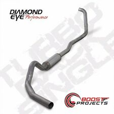 "Diamond Eye T409 Stainless 4"" Turbo-Back Exhaust System Kit K4346S"