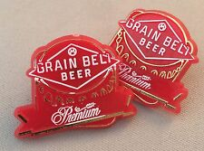 2 GRAIN BELT BEER Premium Pins