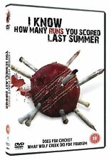 I Know How Many Runs You Scored Last Summer Stacey Edmonds, Douglas NEW R2 DVD