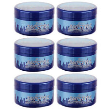 6Pc LUSTER'S S-Curl 360 Style Wave Control Pomade Scurl Hair Firm Hold 3oz