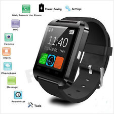 Bluetooth Smart Wrist Watch Phone Mate For IOS Android iPhone Samsung HTC LG #w7
