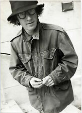 Photo Woody Allen - Tirage argentique d'époque 1969 - 20 x 30 -