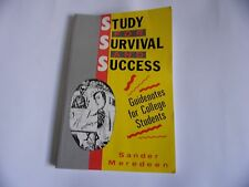Study for Survival and Success by Sander Meredeen