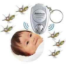 Mini Ultrasonic Anti Mosquito Insect Repeller Keychain With Light Perfect Gadget
