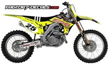 Honda Neon Lucas Oil CRF 450 Graphics Decals Full Kit all years 1990 to present