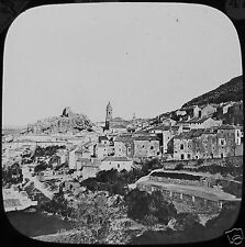 Glass Magic Lantern Slide LOJA GRANADA C1890 SPAIN PHOTO