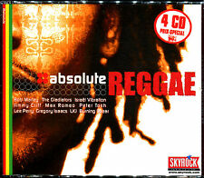 ABSOLUTE REGGAE - COMPILATION 4 CD 72 TITRES