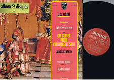 PRISTINE NM STARKER J.S. BACH CELLO SUITES COMPLETE STEREO SET
