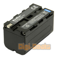 Camera Battery For SONY NP-F750 NP-F970 F960 F950 F930 F770 F570 4.8Ah
